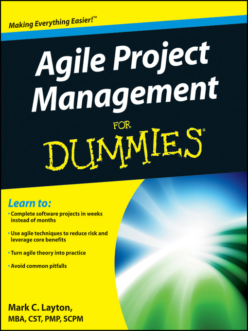 Agile Project Management For Dummies (eBook)