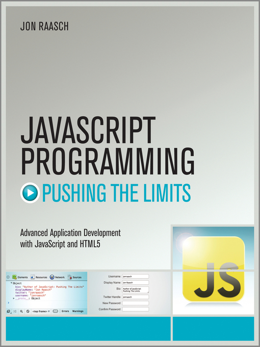 JavaScript Programming - Pushing the Limits (eBook)
