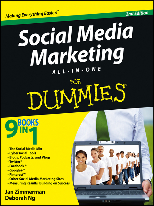 Social Media Marketing All-in-One For Dummies (eBook)