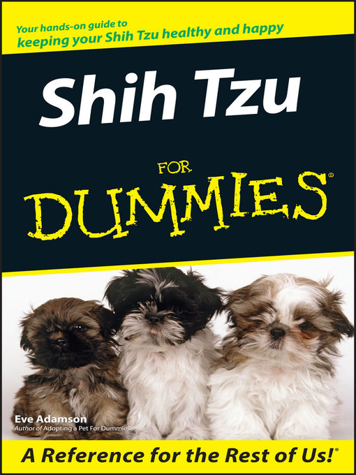Shih Tzu For Dummies (eBook)
