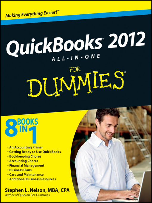 Cover image for QuickBooks 2012 All-in-One For Dummies