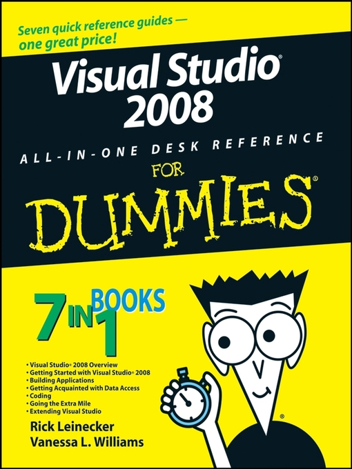 Visual Studio 2008 All-In-One Desk Reference For Dummies (eBook)