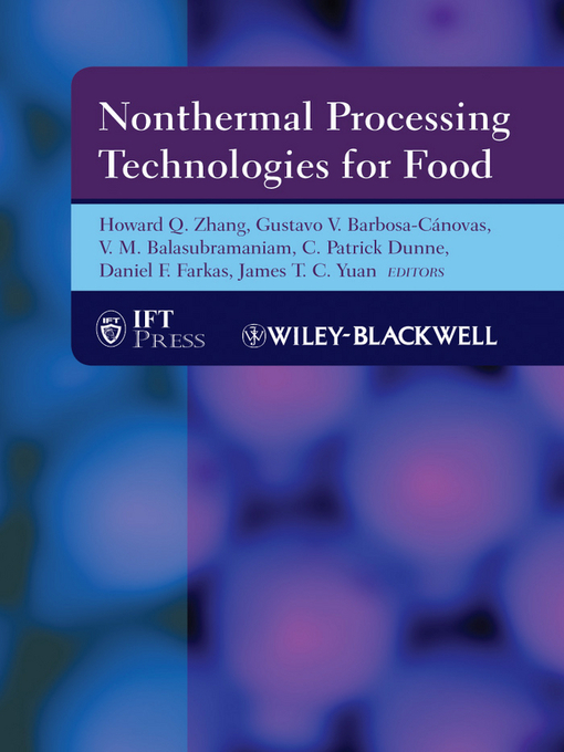 Nonthermal Processing Technologies for Food (eBook)