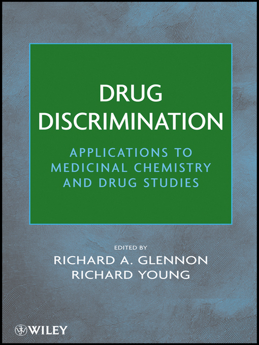 Drug Discrimination (eBook): Applications to Medicinal Chemistry and Drug Studies