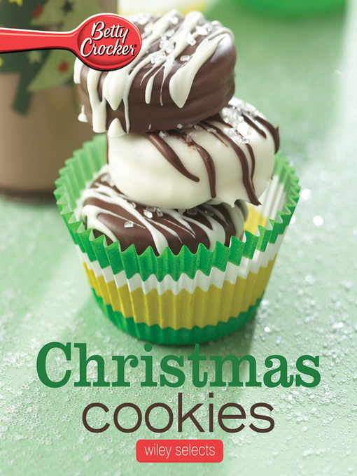 Betty Crocker Christmas Cookies (eBook): Selects Series, Book 5