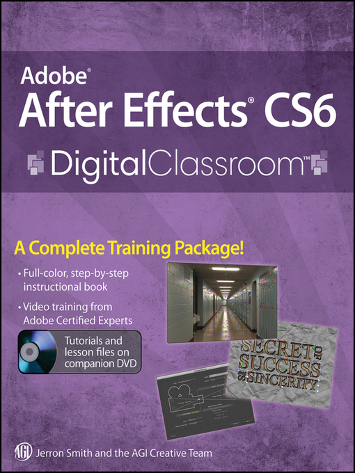 Adobe After Effects CS6 Digital Classroom (eBook)