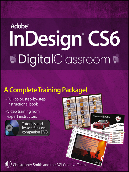 Adobe InDesign CS6 Digital Classroom (eBook)