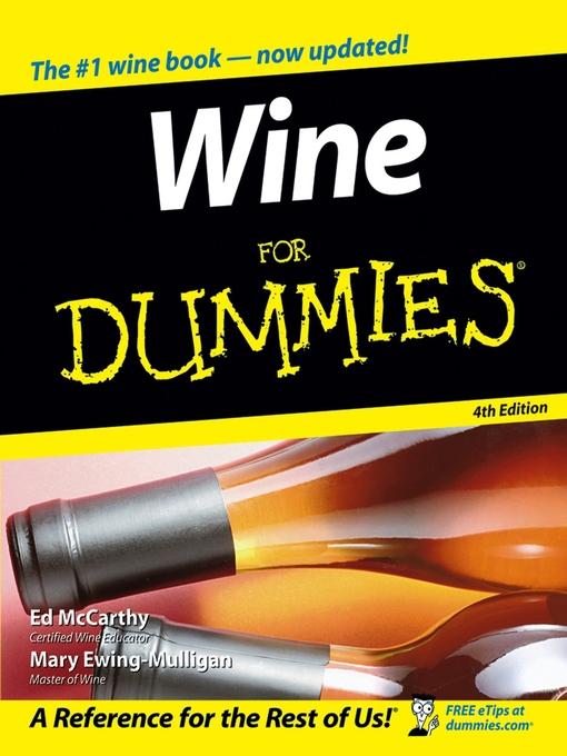 wine for dummies free pdf