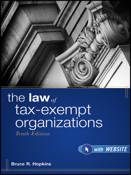 The Law of Tax-Exempt Organizations (eBook)