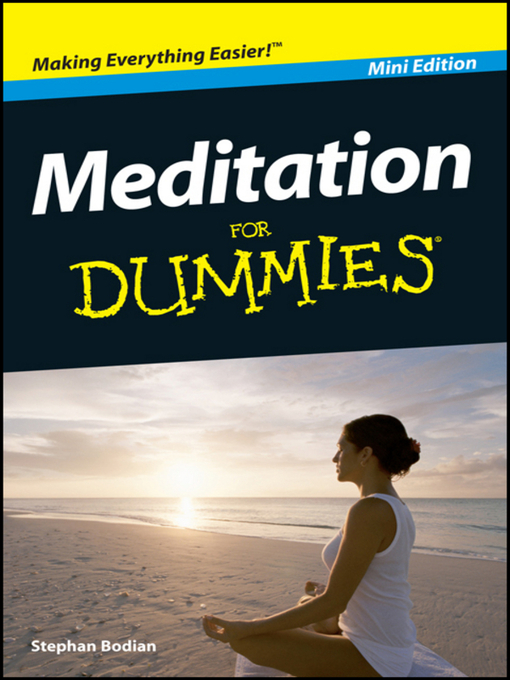 Meditation For Dummies<sup>®</sup> (eBook)