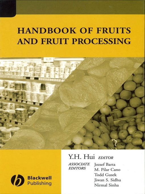 Handbook of Fruits and Fruit Processing-Mantesh