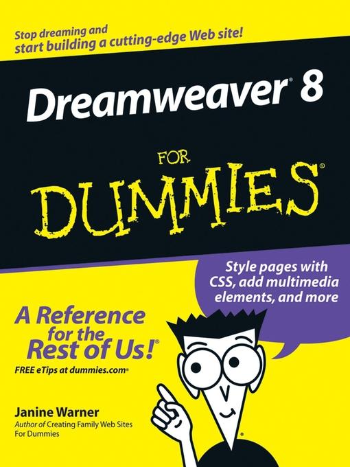 Dreamweaver 8 For Dummies (eBook)