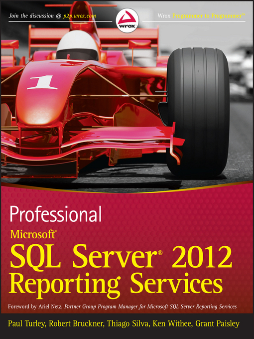 Professional Microsoft SQL Server 2012 Reporting Services (eBook)