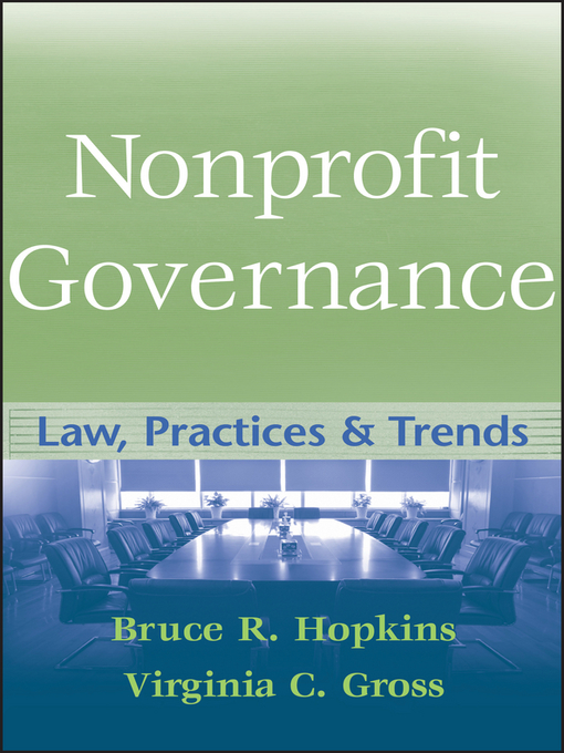 Nonprofit Governance (eBook): Law, Practices, and Trends