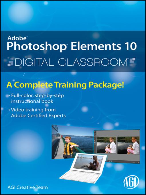 Photoshop Elements 10 Digital Classroom - Digital Classroom (eBook)