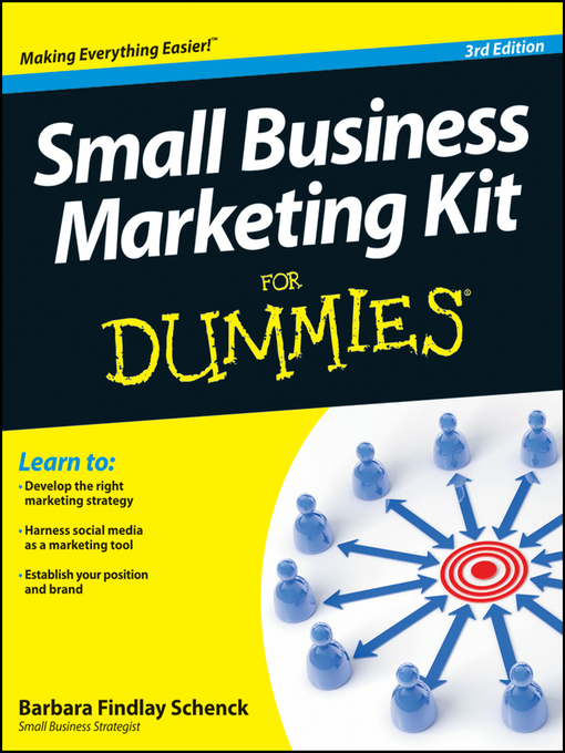 Small Business Marketing Kit For Dummies (eBook)
