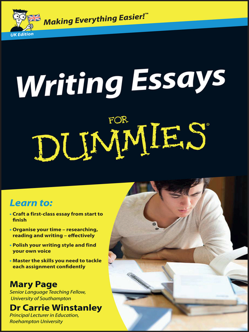Writing essays for dummies download