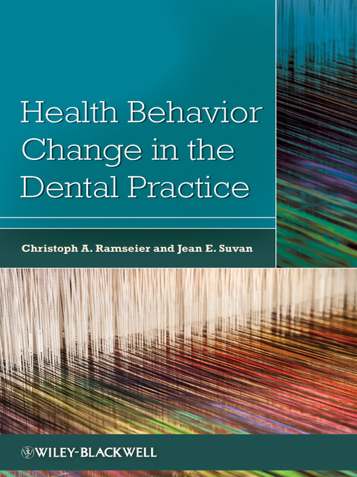 Health Behavior Change in the Dental Practice (eBook)