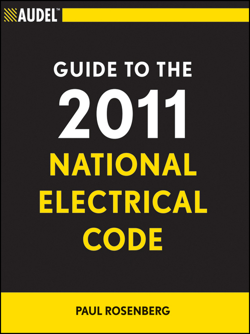 Cover image for Audel Guide to the 2011 National Electrical Code