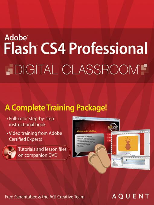 Flash CS4 Professional Digital Classroom (eBook)
