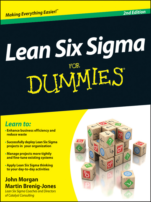 Lean Six Sigma For Dummies (eBook)