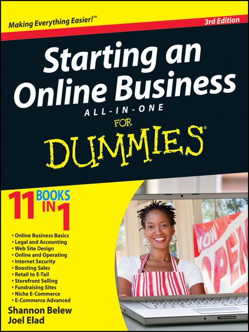 Starting an Online Business All-in-One For Dummies (eBook)