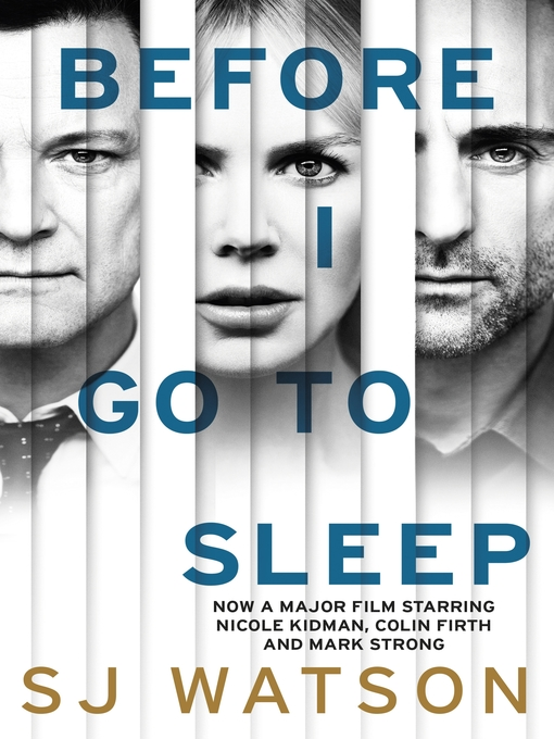 Before I Go to Sleep (eBook)