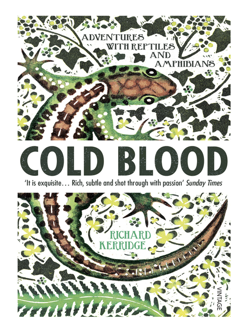 Cold Blood (eBook): Adventures with Reptiles and Amphibians