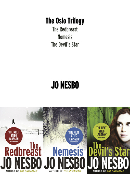 The Oslo Trilogy: The Redbreast / Nemesis / The Devil's Star - Harry Hole (eBook)