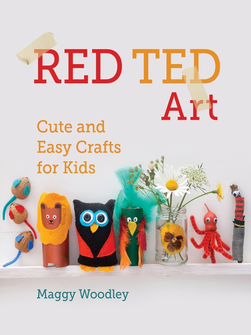 Red Ted Art (eBook): Cute and Easy Crafts for Kids