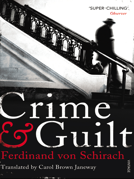 Crime and Guilt (eBook)