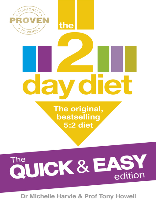 The 2-Day Diet: The Quick & Easy Edition: The Original, Bestselling 5:2 diet (eBook)