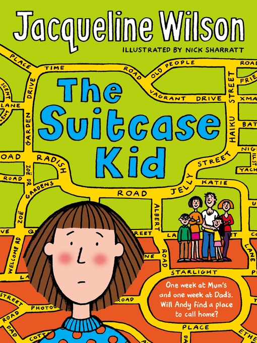 The Illustrated Mum Book Cover : Devon libraries the suitcase kid