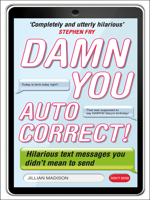 Damn You, Autocorrect! (eBook)