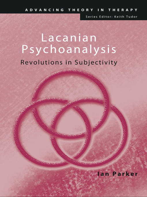 Lacanian Psychoanalysis (eBook): Revolutions in Subjectivity