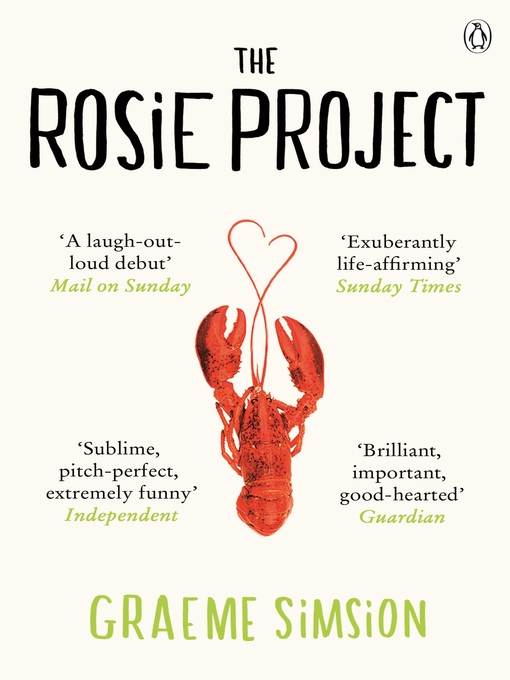 The Rosie Project (eBook): Don Tillman Series, Book 1