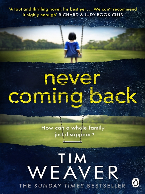 Never Coming Back (eBook): David Raker Novel #4