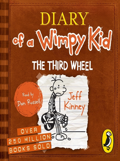 The Third Wheel: Diary of a Wimpy Kid Series, Book 7 - Diary of a Wimpy Kid (MP3)