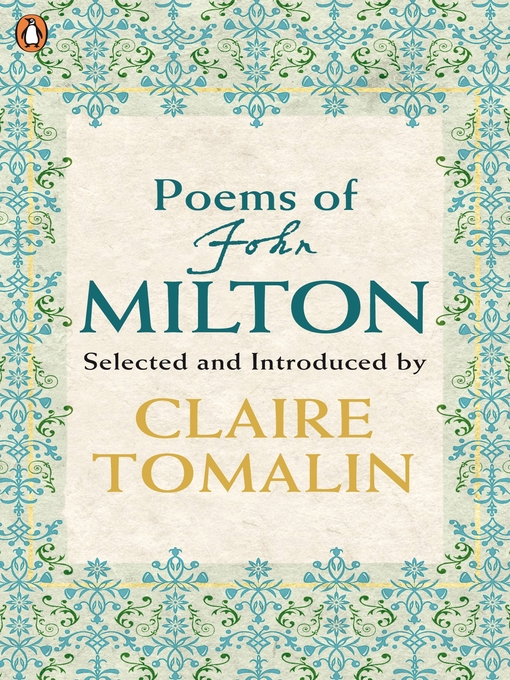 Poems of John Milton (eBook)
