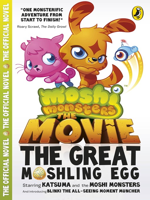 Moshi Monsters (eBook): The Movie: The Great Moshling Egg