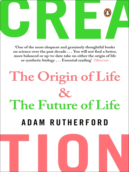 Creation: The Origin of Life / The Future of Life (eBook)
