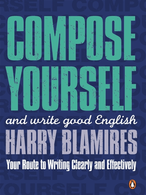 Image: Cover of Compose Yourself (eBook): and write good English