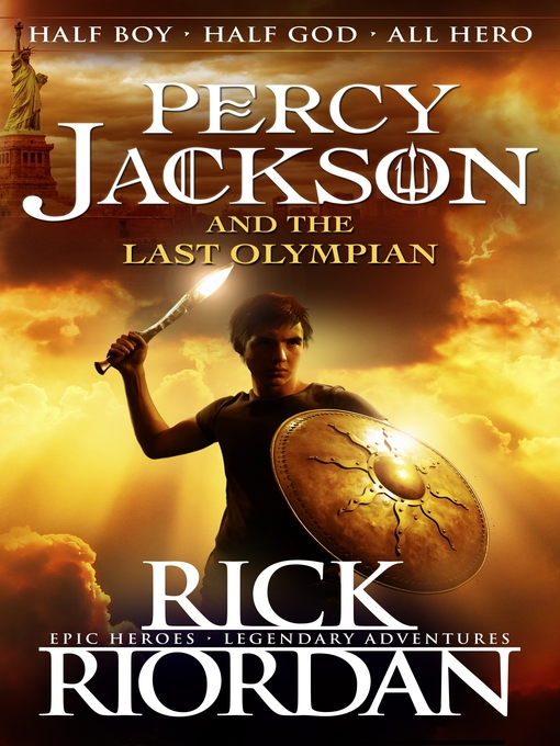 Percy Jackson and the Last Olympian book cover