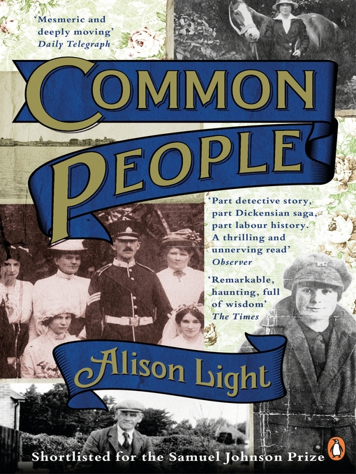Common People (eBook): The History of An English Family