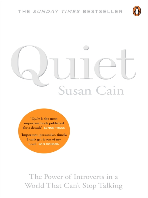 Quiet (eBook): The power of introverts in a world that can't stop talking