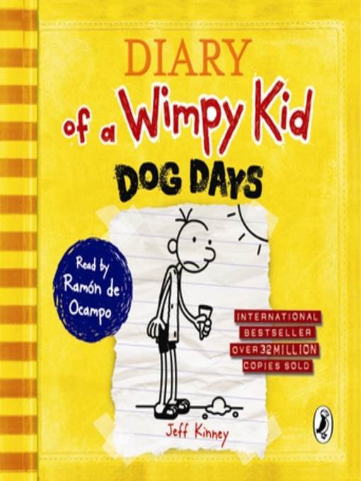 Dog Days: Diary of a Wimpy Kid Series, Book 4 - Diary of a Wimpy Kid (MP3)