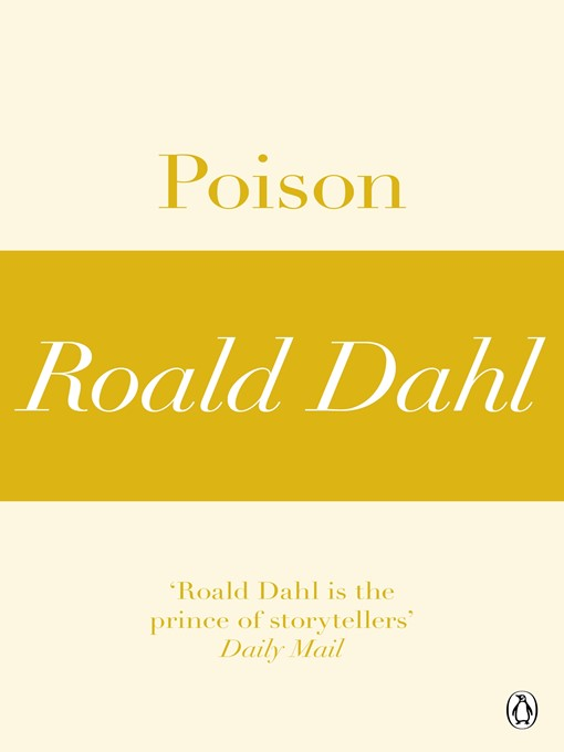 poison by roald dahl thesis