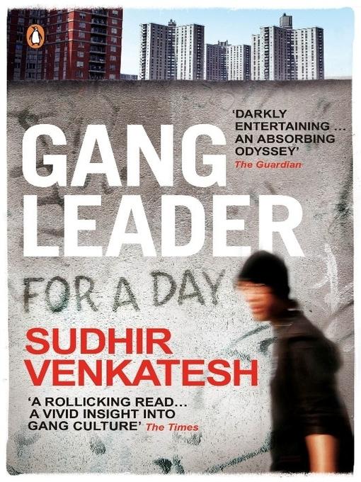Gang leader for a day. Sudhir Venkatesh