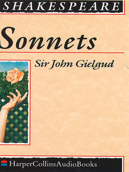 Sonnets (MP3)