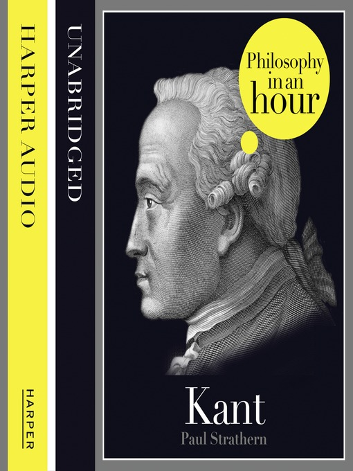 Kant (MP3): Philosophy in an Hour
